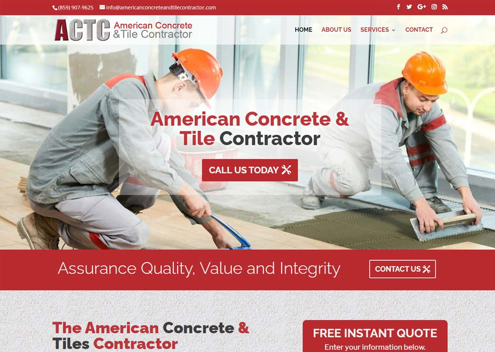 American Concrete & Tiles Contractor