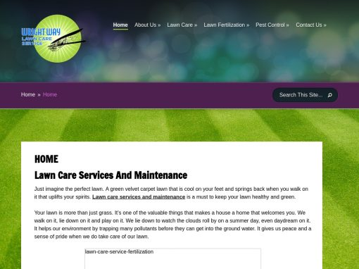 Wright Way Lawn Care Service